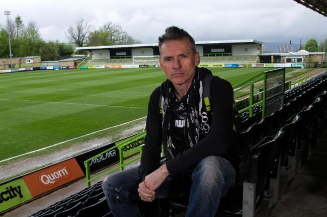 MISTAKE: Forest Green Rovers chairman Dale Vince believes EFL matches should not have been suspended