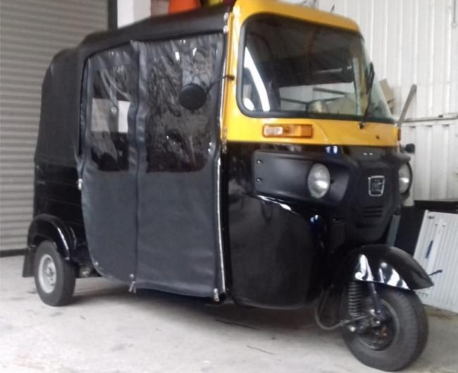A photo of a Tuk-tuk provided by the applicant to Monmouthshire council