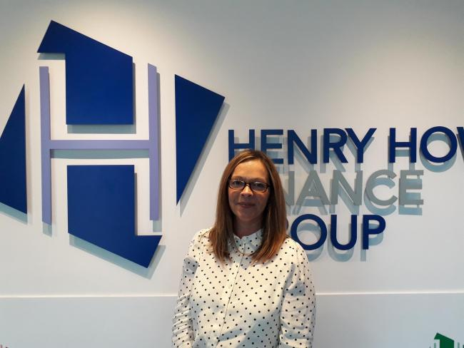 Carey Hansford as Head of Funder Development, Henry Howard Finance