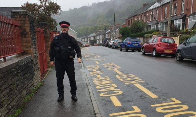 Parking enforcement in Caerphilly County Borough