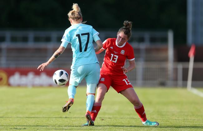 VICTORY: Rachel Rowe scored a late winner for Wales in Belarus (picture from files)