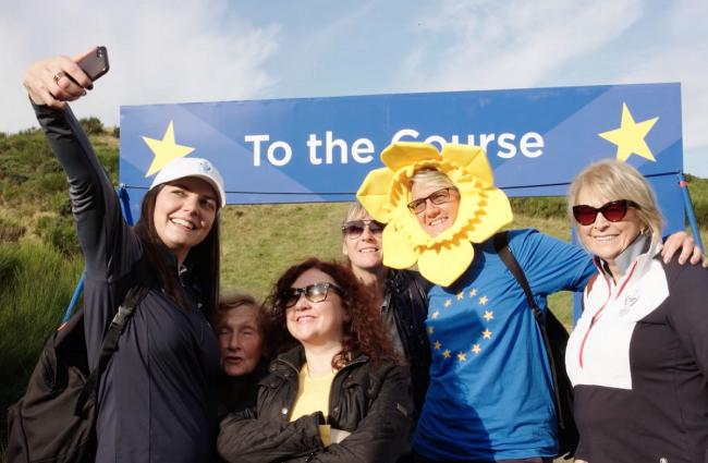 Scottish golfing history created thanks to Solheim Cup Club Ambassador Programme