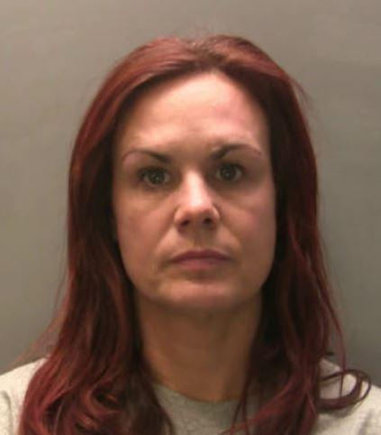 JAILED: Louise Griffiths