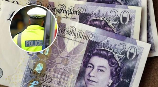 Counterfeit notes warning