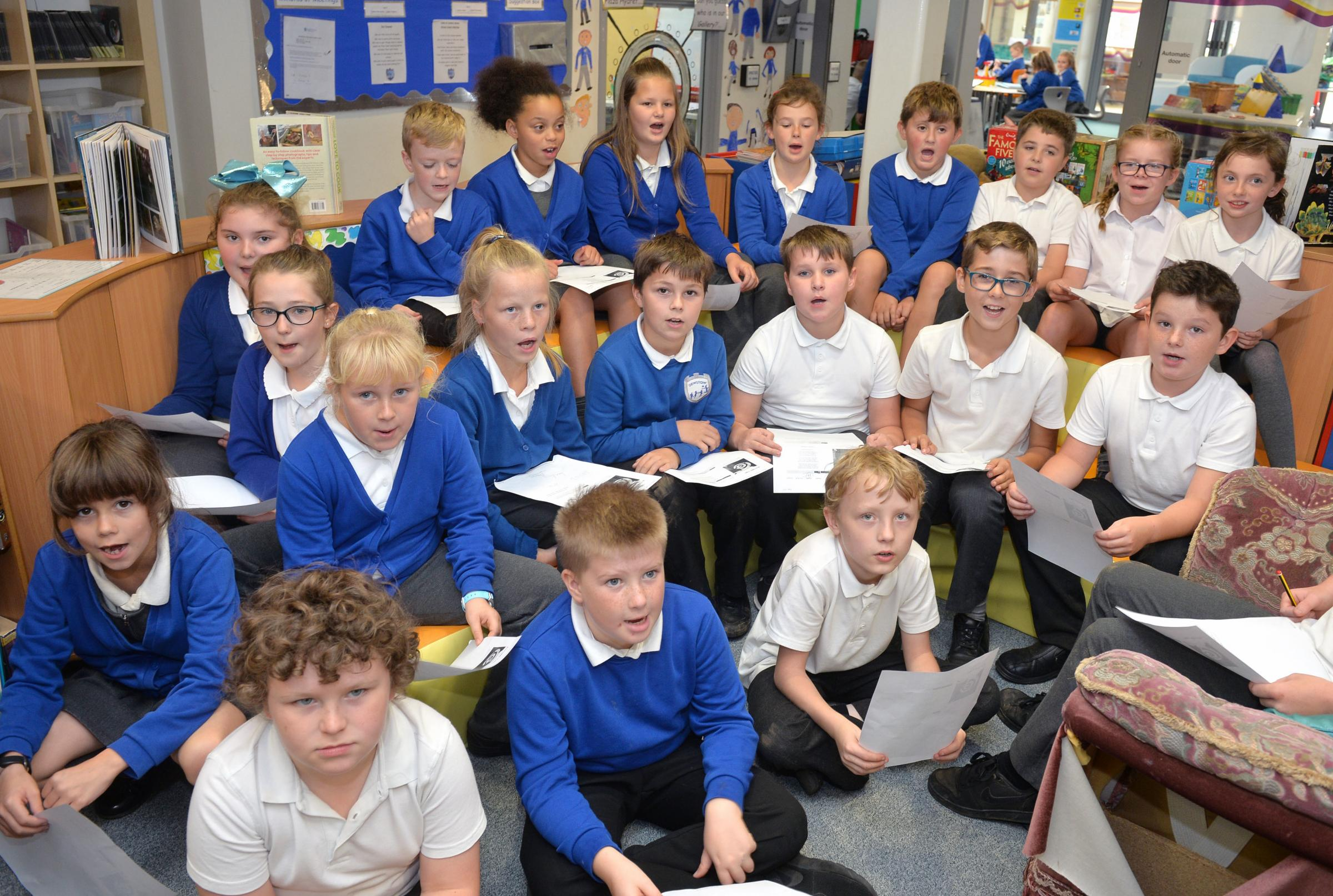 SCHOOL OF THE WEEK: Fun approach to learning reaps rewards at Dewstow Primary