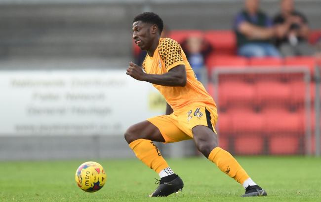 LOAN: Newport County defender Marvel Ekpiteta has joined Ebbsfleet United until January