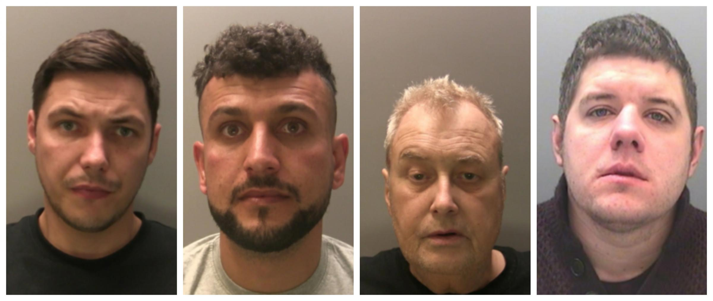 Names and faces of Gwent's four most wanted suspects 'on the run'
