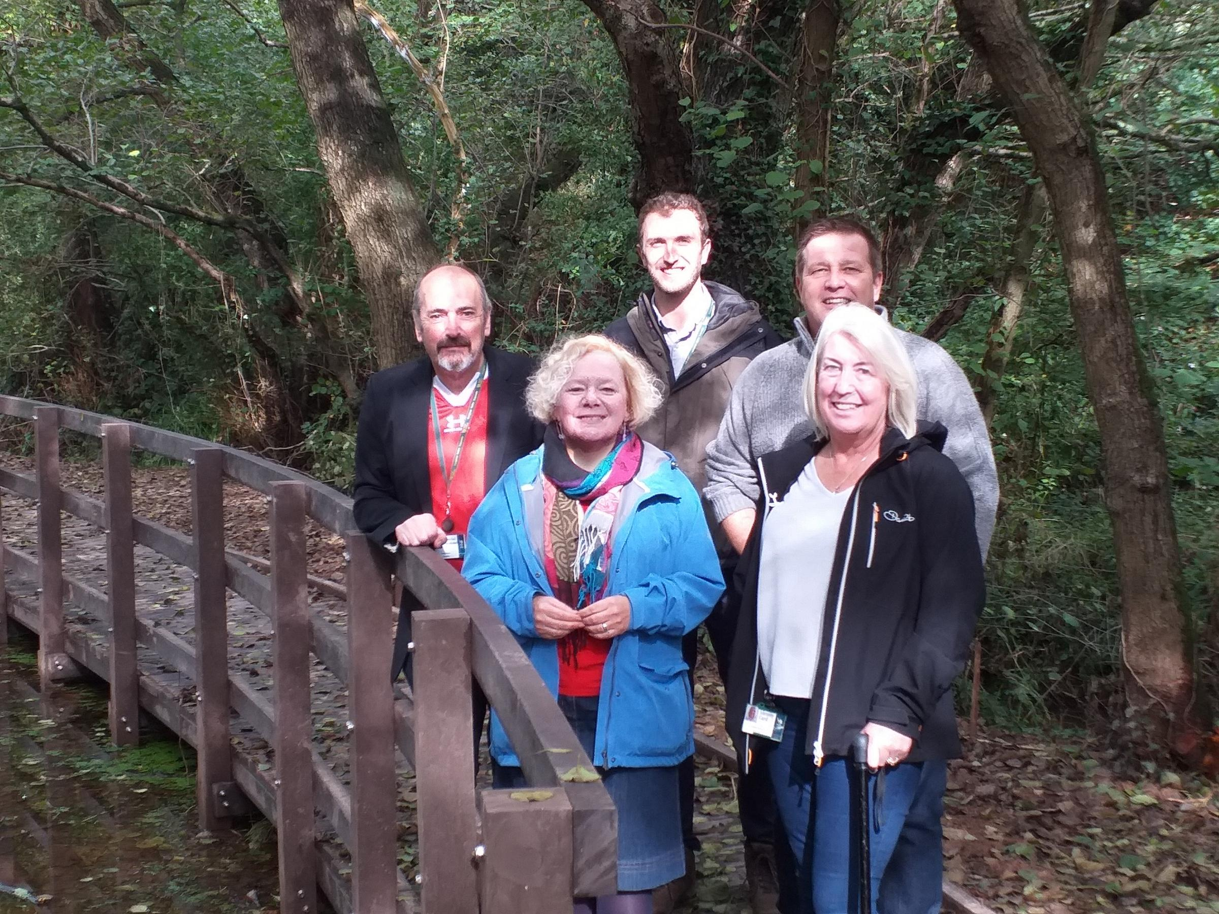 Newport City Council restore Pilton Vale walking route