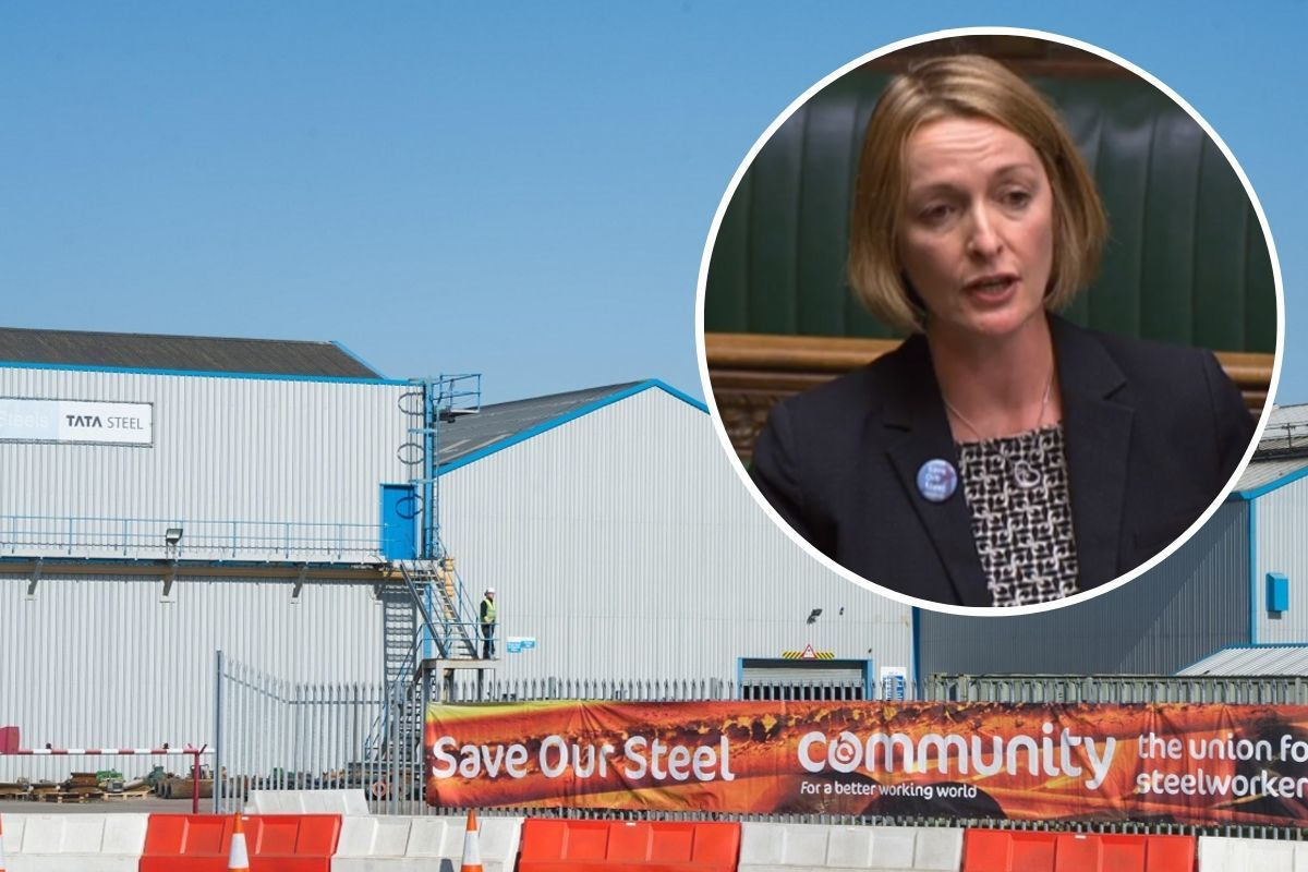 Newport East MP Jessica Morden questions government's vision in call for support of Orb Steelworks