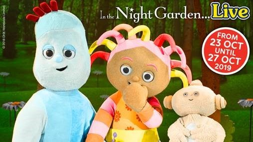 Visit the Night Garden at Cardiff theatre