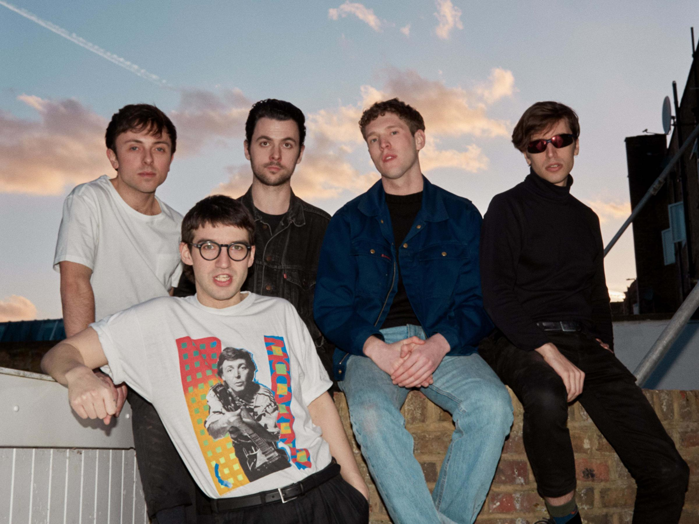 Indie rock five-piece hit Cardiff