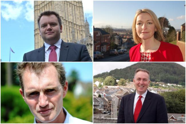Jessica Morden, Nick Thomas-Symonds, Nick Smith and David Davies are among the MPs to sign a letter calling on Barclays executives to reverse the bank's decision to end Post Office cash withdrawal services that its customers rely on.