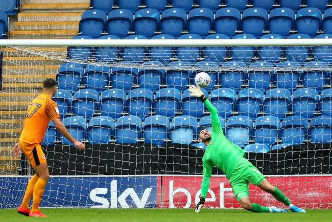 EQUALISER: Ryan Jackson's shot deflected off Mark O'Brien to put Colchester United level against Newport County. Pictures: Huw Evans Agency