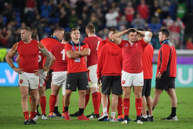 South Wales Argus: DESPAIR: Elliot Dee (right) after Wales' loss to South Africa