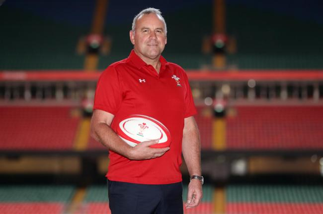 Next Wales head coach Wayne Pivac during the press conference at the Principality Stadium, Cardiff
