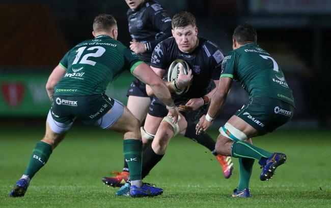 BOUNCING BACK: Lock Matthew Screech and the Dragons responded well to their shortcomings against Connacht