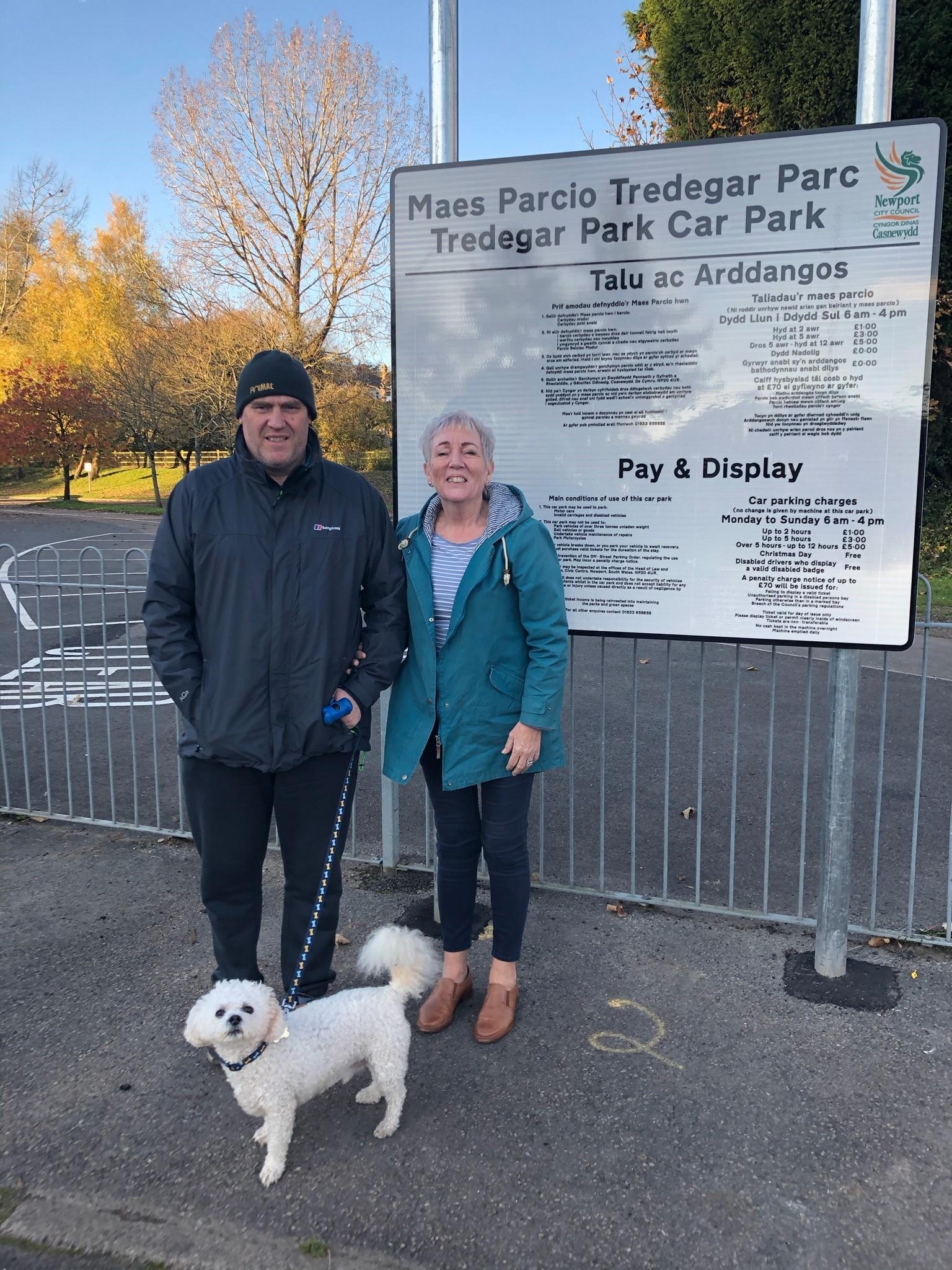 Dog-walking group will split up after Tredegar Park starts parking charges