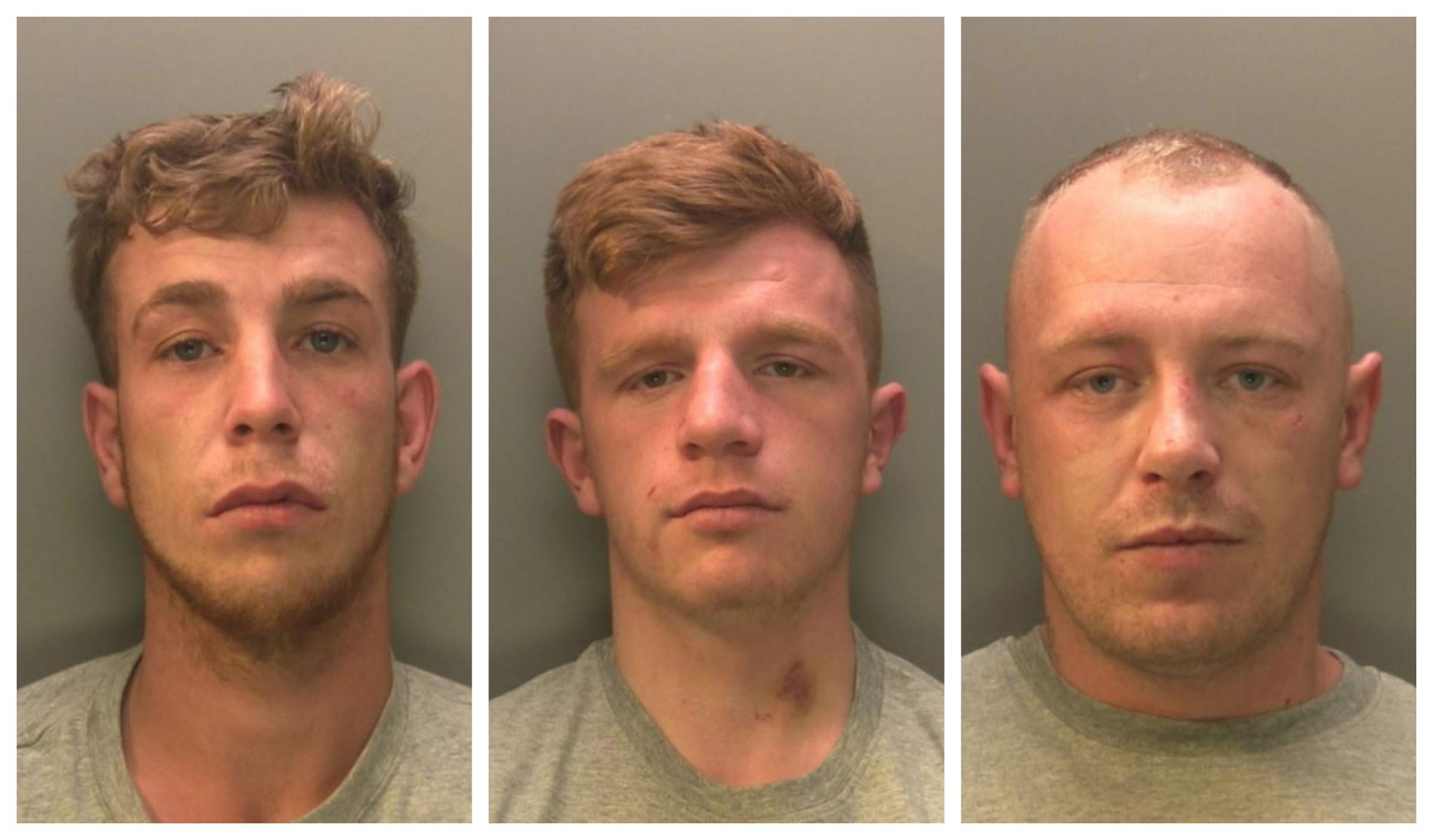 Brawlers who used knives, part of a vacuum cleaner and a plank of wood jailed for more than five years