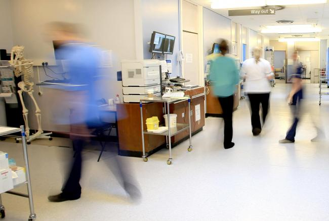 File photo of a hospital ward. Picture: Peter Byrne/PA Wire