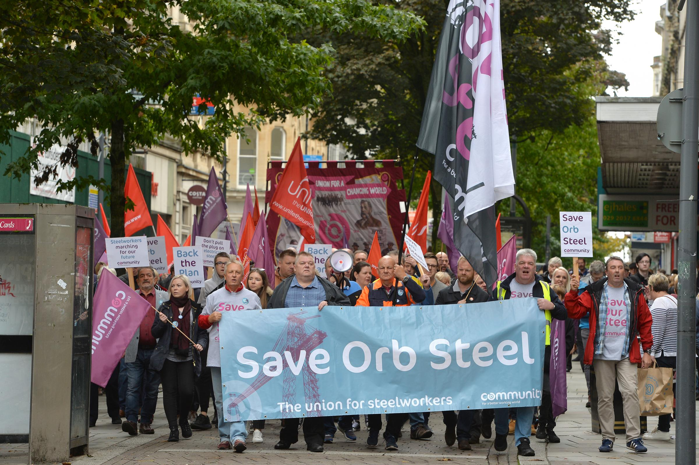 Steelworks petition signatures pass 500