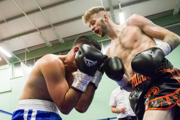 LONDON CALLING: Craig Woodruff, right, is aiming for a British title fight. Picture: Sarah Hopkins Photography