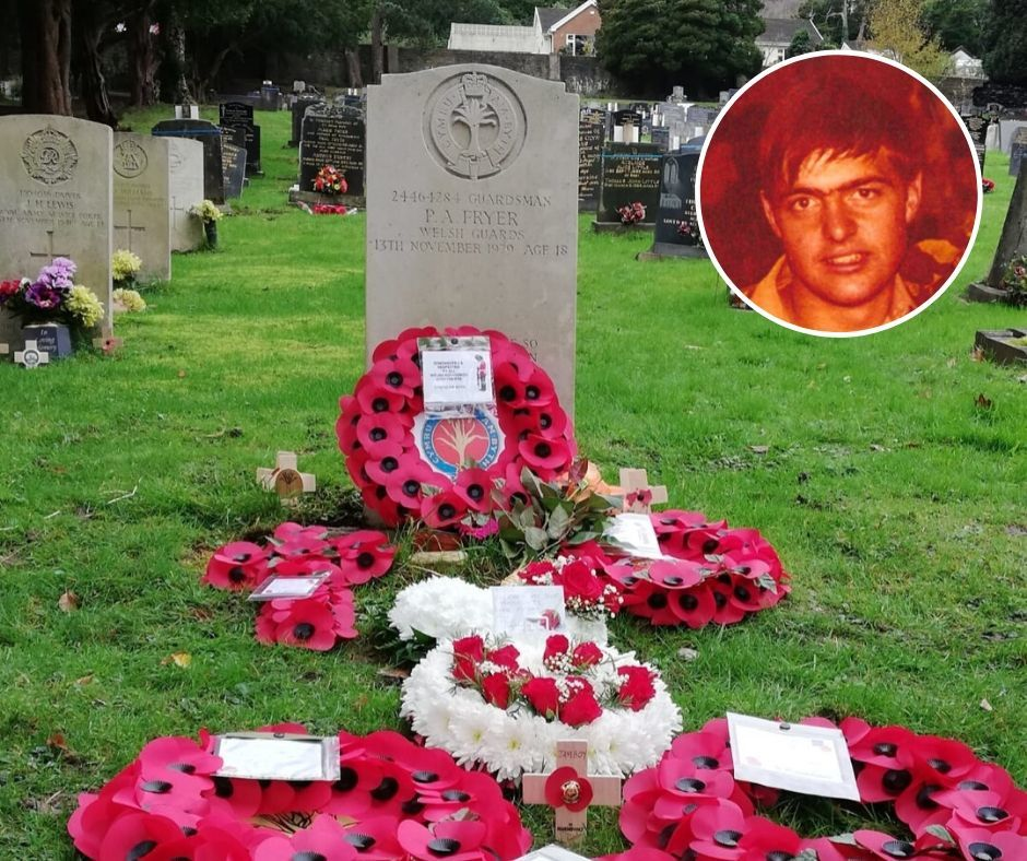 Family of Paul Fryer, killed by IRA 40 years ago visit his grave following Argus appeal