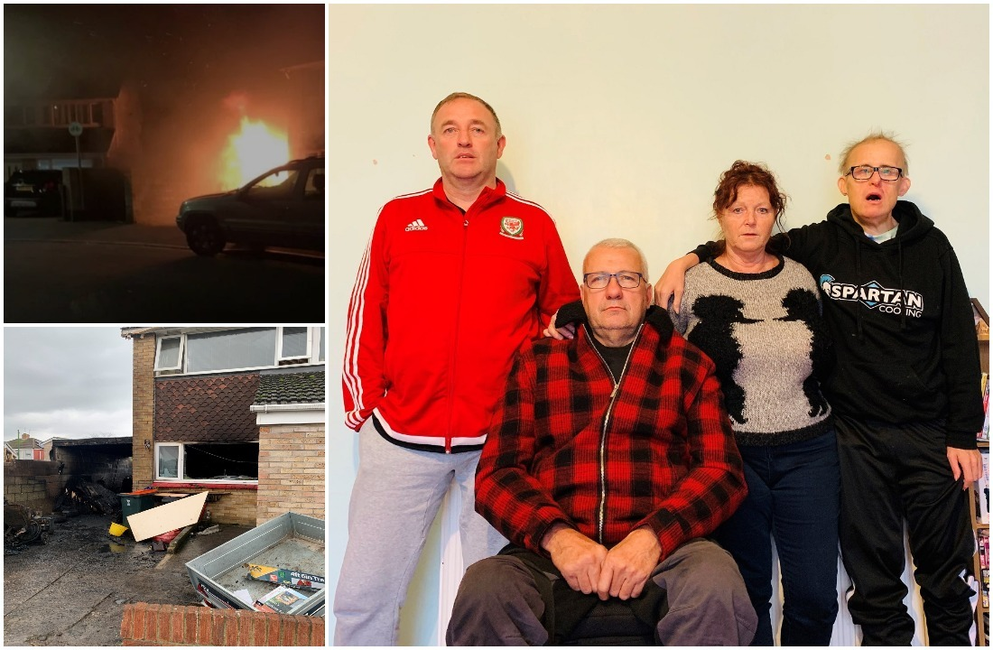 'It just doesn't feel real': Newport family whose house was set on fire on Bonfire Night won't feel the same this Christmas