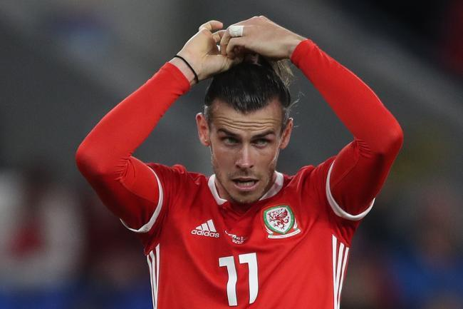 CENTRE OF STORM: Wales and Real Madrid star Gareth Bale