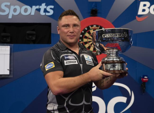 VICTORY: Gerwyn Price defended his Grand Slam of Darts title in style over the weekend. Picture: Lawrence Lustig