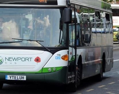 Newport-Cardiff bus journeys on A48 delayed by heavier than usual traffic ahead of Wales football match