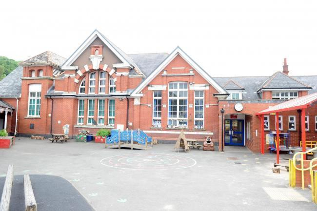Victoria Primary School in Abersychan