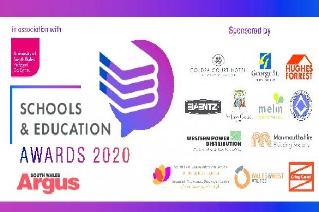 Schools awards logo panel
