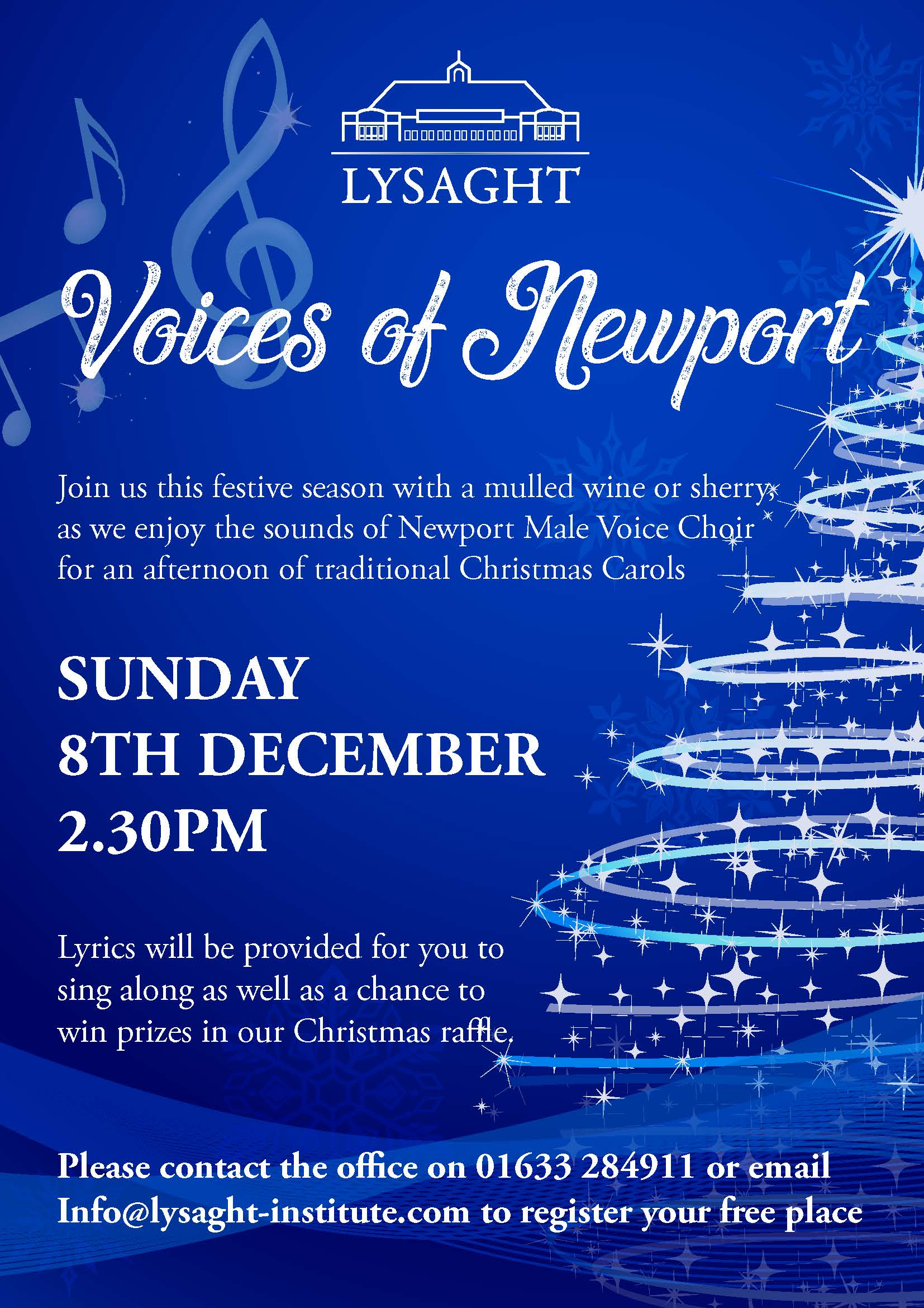 An afternoon with Newport male voice choir