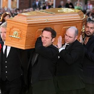 Emotional tribute at Gately funeral | South Wales Argus