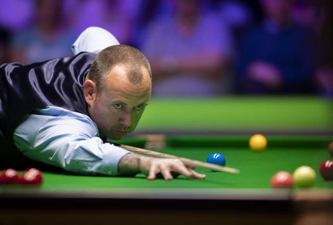 PROGRESS: Gwent's Mark Williams is through to the third round of the ManBetX Welsh Open in Cardiff