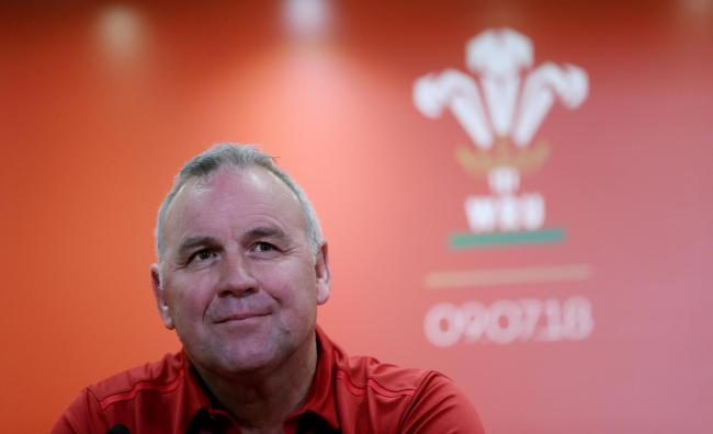 Next Wales head coach Wayne Pivac during the press conference at the Principality Stadium, Cardiff..