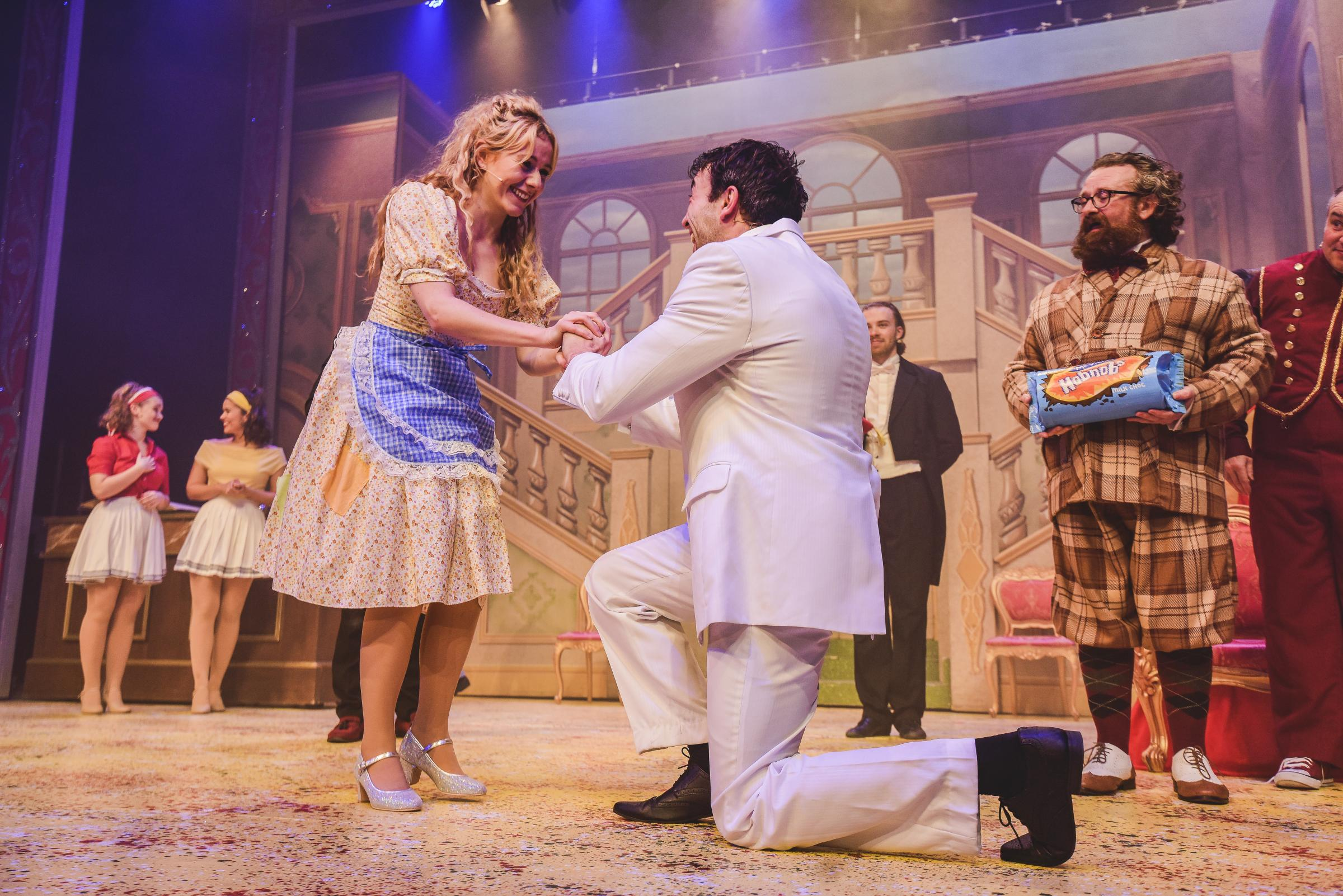 Cinderella review at the Riverfront Theatre Newport