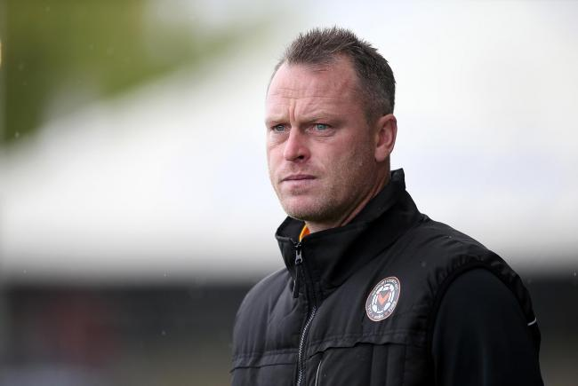 POSITIVE: Newport County manager Michael Flynn saw his side win 1-0 at Maldon & Tiptree on Friday night