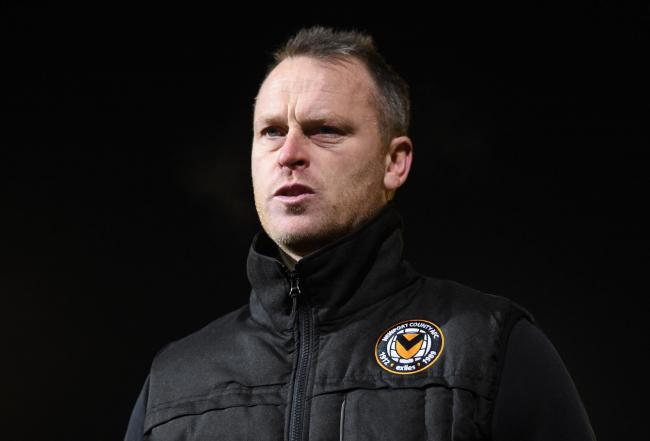 HEADACHE: Friday's win at Maldon & Tiptree came at a cost for Newport County manager Michael Flynn