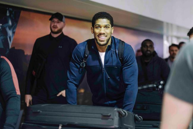 Anthony Joshua is in Saudi Arabia bidding to reclaim the world heavyweight titles