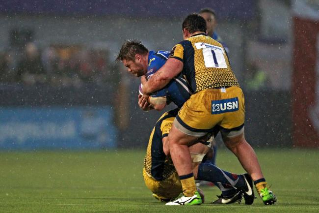 SIDELINED: I'd love to be going up against Worcester again in Europe