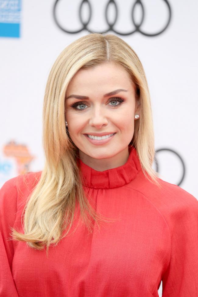 Katherine Jenkins arrives for a concert hosted by Sentebale in Hampton Court Palace in East Molesey, to raise awareness and vital funds for the Duke of Sussex's charity, Sentebale, which helps young people in southern Africa affected by HIV. PRESS ASS