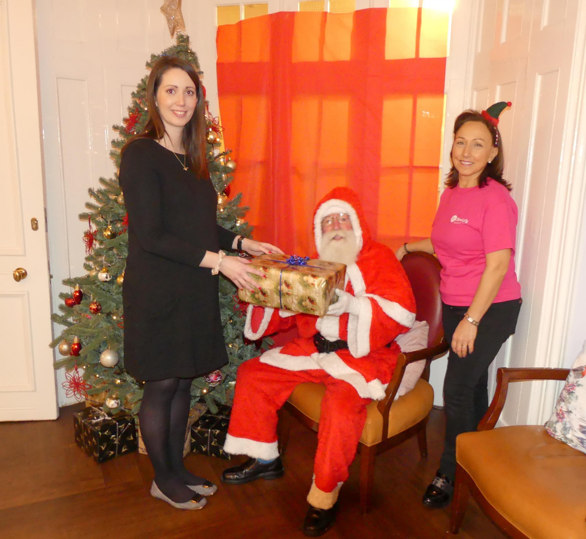 Santa turns out for a popular charity event