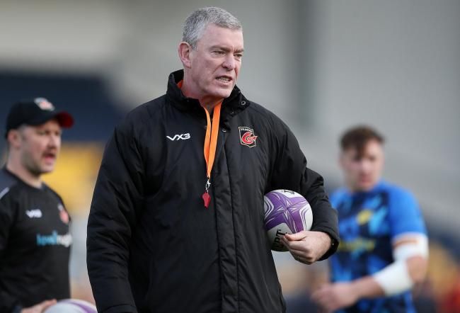 ANGRY: Dragons boss Dean Ryan