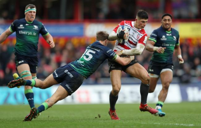 BRIGHT PROSPECT: Gloucester winger Louis Rees-Zammit has been tipped for a Six Nations call-up next week