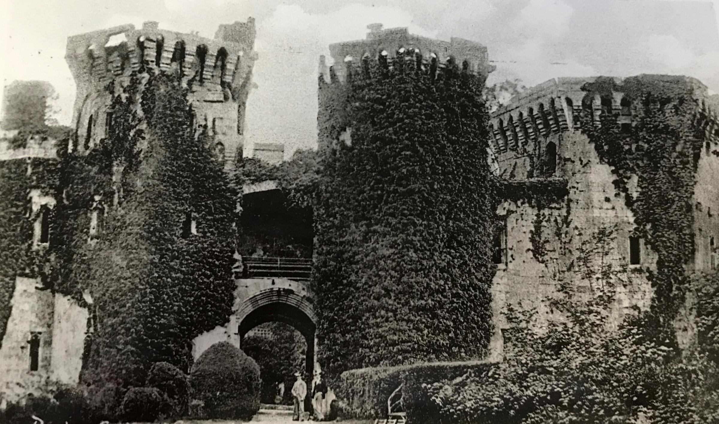 NOW AND THEN: There are castles all over Gwent - but where's this one?