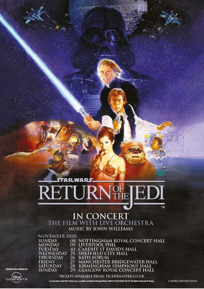 See Star Wars live in concert