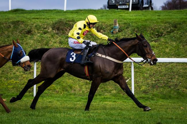 CLASS: Acting Lass winning the Coral Welsh Grand National Trial on Saturday
