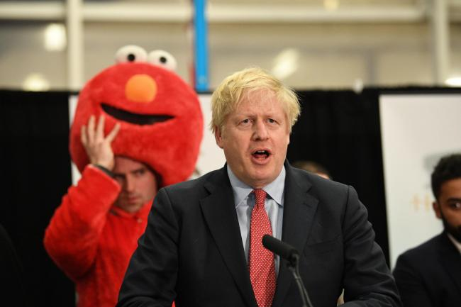 Prime Minister Boris Johnson giving his victory speech after winning the Uxbridge & Ruislip South constituency in the 2019 General Election. PA Photo. Picture date: Friday December 13, 2019. See PA story POLITICS Election. Photo credit should read: St