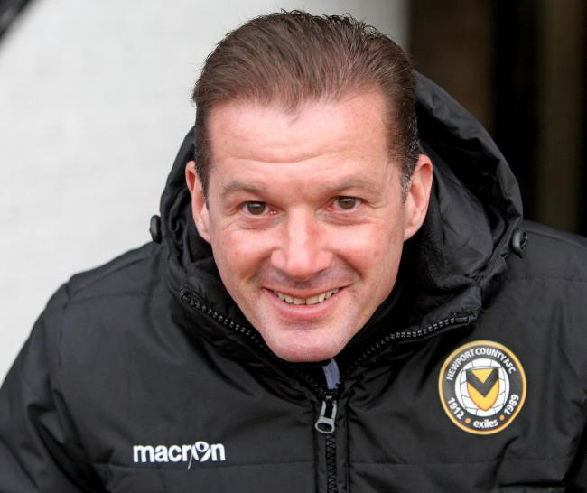 RETURN: Former Newport County manager Graham Westley is back in League Two with Stevenage